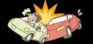 彦根市かがりの整骨院交通事故のイラスト